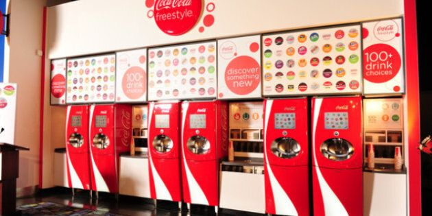 Coca-Cola Freestyle: Trying To Find The Tastiest Mixed Coca-Cola