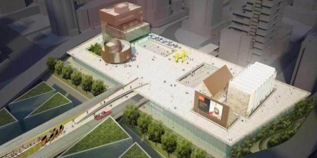 Vancouver Art Gallery Move: Proposal Imagines 'Welcome Mat' For