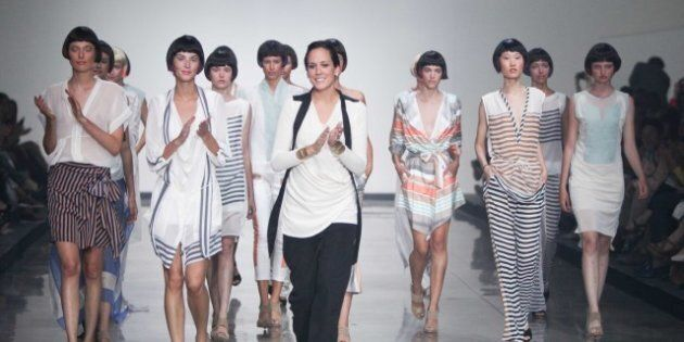 Montreal Fashion Week 2012: It's All About Silk At Martin Lim, Melissa Nepton, Marie Saint-Pierre And...