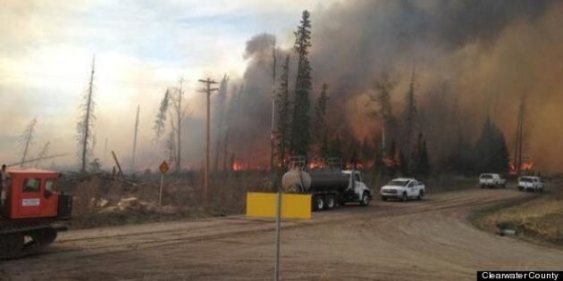 Nordegg And Lodgepole Evacuated Due To