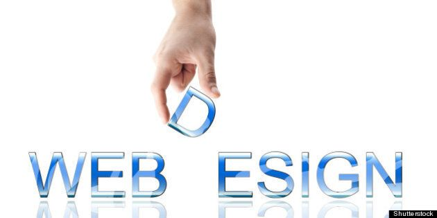 webdesign word made by male...