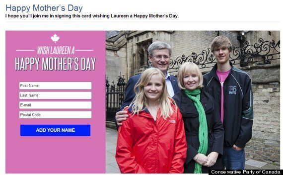 Trudeau Asks For Question Period Help, Harper Calls For Mother's Day Greetings