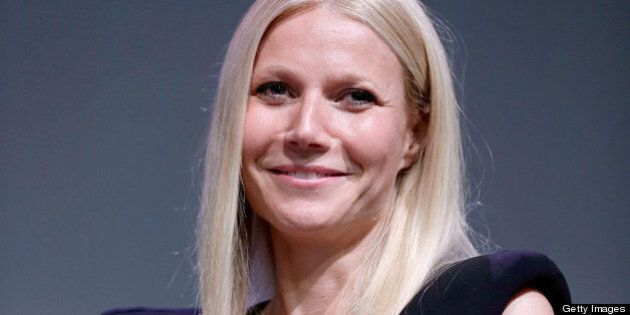 NEW YORK, NY - MAY 07: Gwyneth Paltrow attends Meet The Developer at the Apple Store Soho on May 7, 2013...