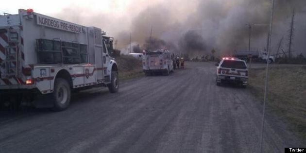 Nordegg Lodgepole Fire Evacuations: 200 Residents Flee Foothills Fires In West-Central