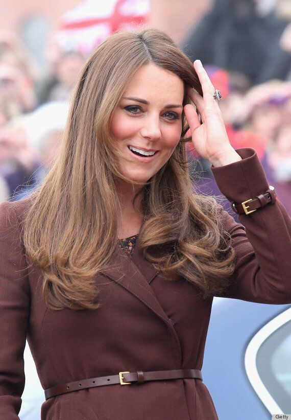 Pregnant Kate Middleton Arrives In Grimsby For Official Visit, Reveals Baby Is Kicking