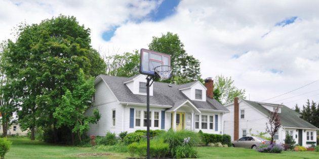 basketball hoop on