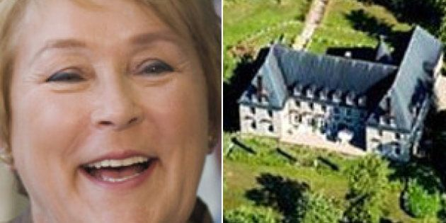 Pauline Marois Used To Live In A Castle