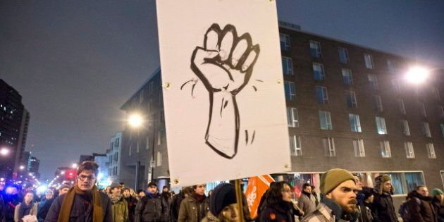 Quebec Student Protests: Montreal Nighttime Action Ends With 50