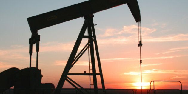 oil field pump jack with...