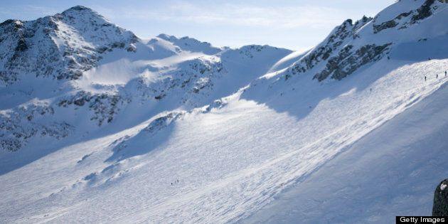 Top of Blackcomb Glacier