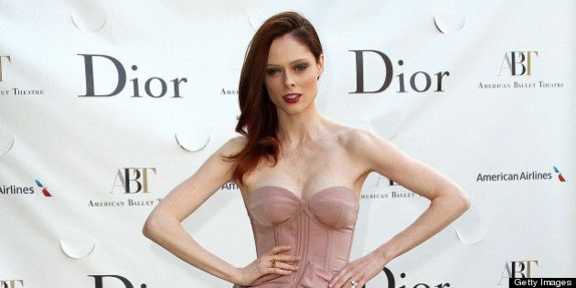 NEW YORK, NY - MAY 13: Coco Rocha attends the 2013 American Ballet Theatre Opening Night Spring Gala...