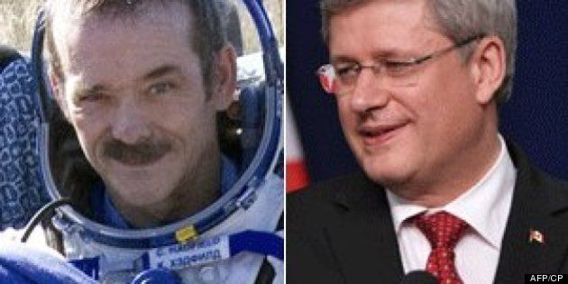 Chris Hadfield Has Made All Canadians Proud, Harper