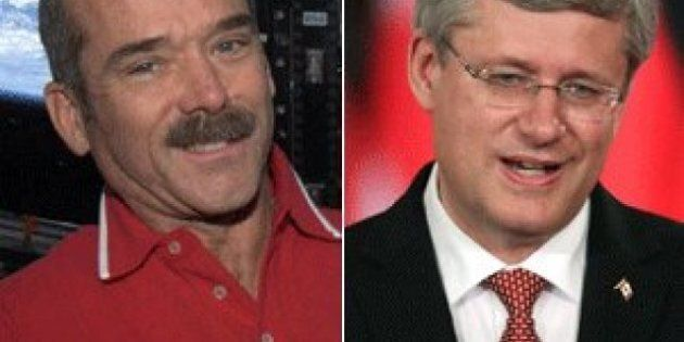 #PMHadfield: Harper Mocked After Seeking Out Questions For Chris Hadfield
