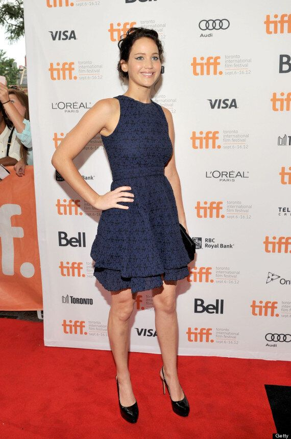 Jennifer Lawrence Shows Off Two Very Different Looks At TIFF 2012