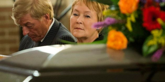 Denis Blanchette: Funeral Held For Man Killed At PQ Election Party, Pauline Marois Among