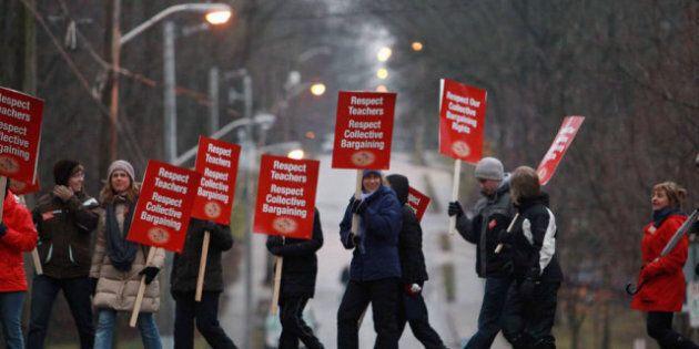 Ontario Teacher Strikes: Elementary Teachers' Union Targets Bluewater, Algoma, Halton School