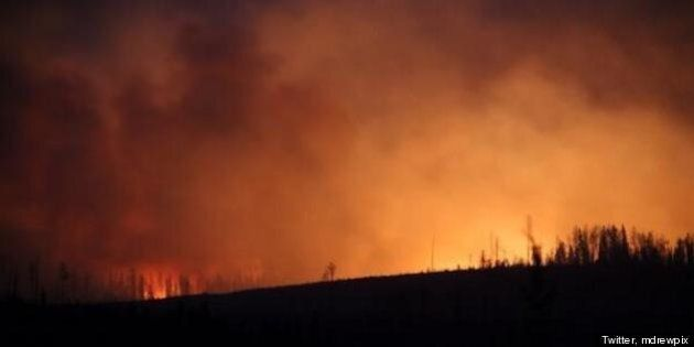 Nordegg, Lodgepole Wildfires Evacuation: Residents May
