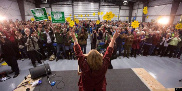 Andrew Weaver Wins Green Party