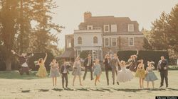 Real Wedding: Whimsical Vintage-Chic Toronto