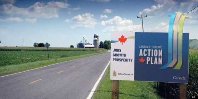 Economic Action Plan: Harper Government Reportedly Spent $21M On Ads In