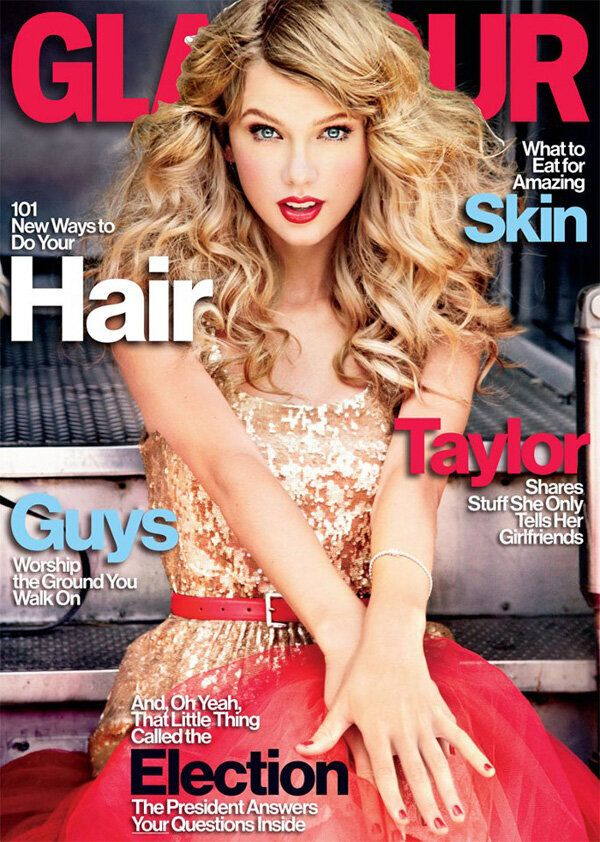 Dear Glamour: Taylor Swift Looks More Alien Than