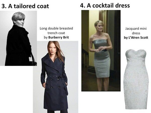 House of Cards Fashion: Claire Underwood's Corporate