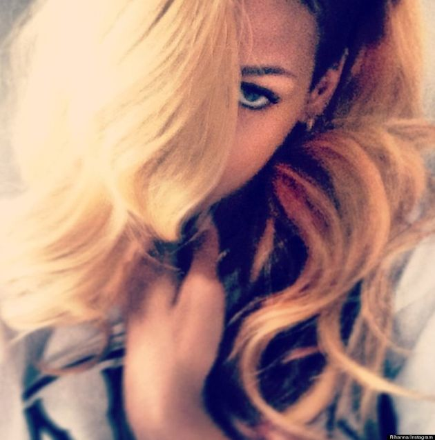 Rihanna Goes Blond: Instagram Pic Shows Off Singer's New Hair