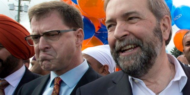 BC Election: Thomas Mulcair Can't Be Happy With Adrian Dix's