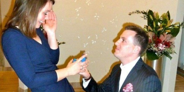 Real Wedding Toronto: A Super Sweet Surprise Proposal And Secret Wedding On Valentine's
