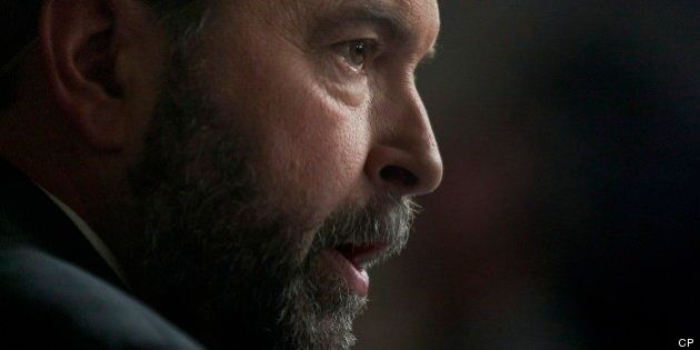 Mulcair Should Back Pipeline While In D.C., Conservative