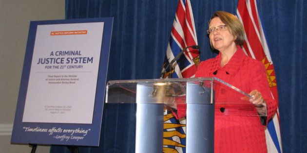 BC Justice Reform, Minister Makes No New Funding