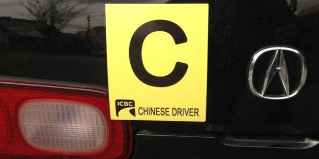 Reddit Chinese Driver 'C' Sign Called Funny, 'Slightly