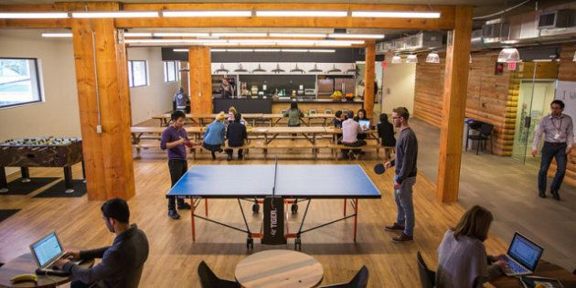 HootSuite Vancouver Office Boasts Beer, Nap Room