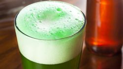 How To Make Green Beer With And Without