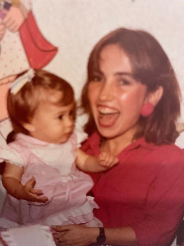 Cláudia e Talita Werneck, mãe e
