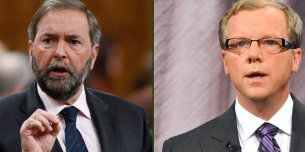 Brad Wall Accuses Thomas Mulcair Of 'Betraying' Keystone,