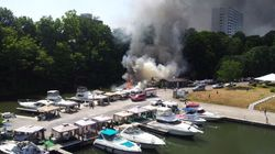 Ontario Boat Explosion Injures