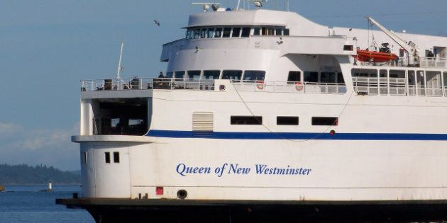 BC Ferries Fire Forces Queen Of New Westminster Out Of