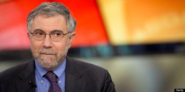 Nobel Prize-winning Economist Paul Krugman, professor of international trade and economics at Princeton...