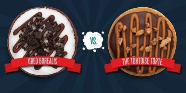 Tim Hortons Contest: 'Duelling Donuts' Down To Oreo Borealis Vs. Tortoise