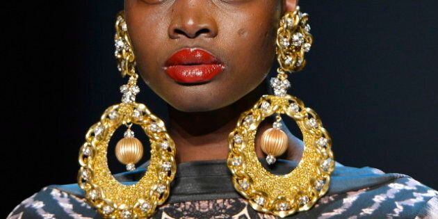 Evan Biddell Is Back: Designer Brings Drama To Toronto Fashion Week Runway