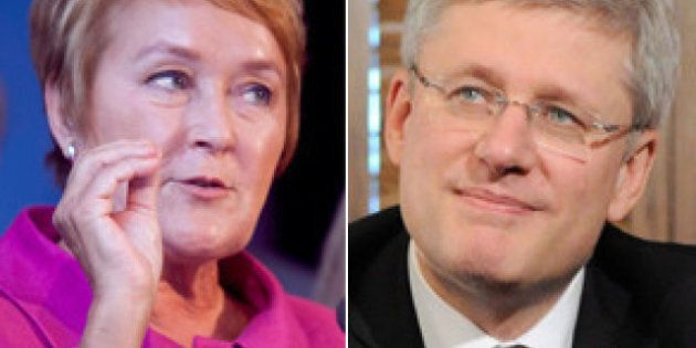 Pauline Marois Refuses Stephen Harper's Press Conference