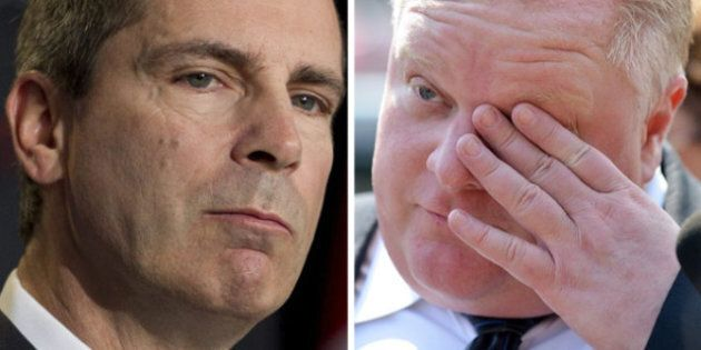 Toronto Shootings: McGuinty Meets With Rob Ford, Bill Blair To Discuss City's Gun