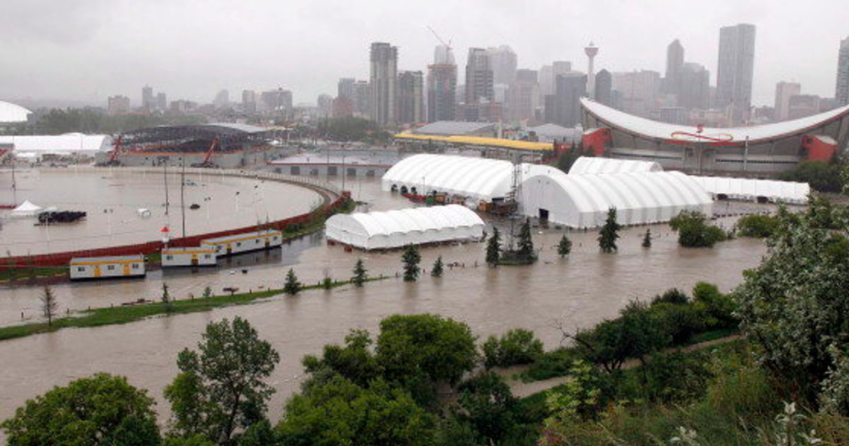 Calgary Flooding: Stampede Grounds Flooded, CEO Says 'We'll