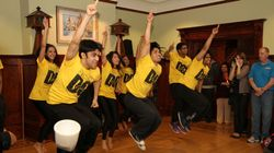 Bollywood Dancers Visit Kids' Care