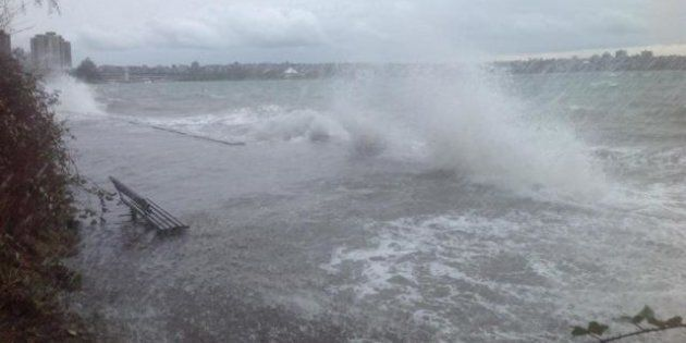 Storm Closes Stanley Park And West Vancouver