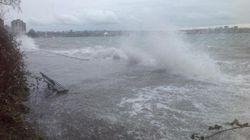 Storm Surge Closes B.C.