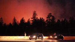 Wildfire Evacuees Return