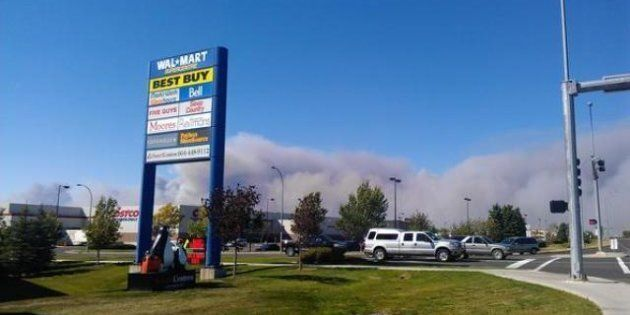 Milk River Grass Fire: Evacuees Allowed To Return Home As Winds Calm, Fire