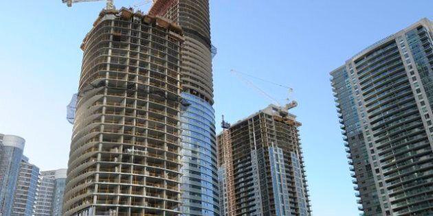 Toronto New Condo Sales Fall 47 Per Cent, But Construction Levels Hit Record